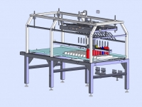 Aseptic bottle filler - Machine layout 1