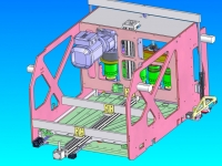 CAD of design of Capping Machine 2