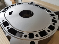 Surface grinding of Rotary Engine housing